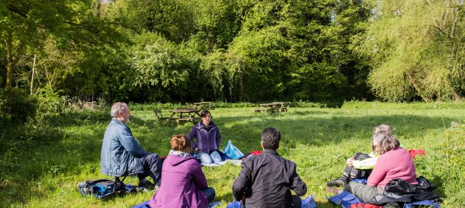 A sensory spring morning in Granchester