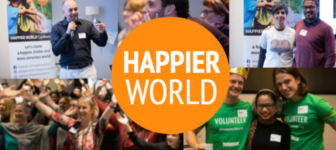 Join us on 20-21st April at the Happier World Conference!