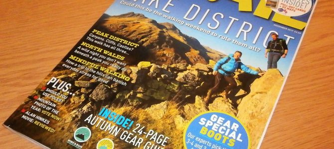 The Power of Nature in TRAIL MAGAZINE!
