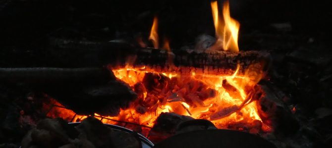 Solstice reflections: entering the fire, together